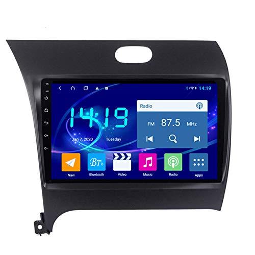 KLL Radio Coche Bluetooth Manos Libres para Kia K3 2013-2015 2 DIN Pantalla Tactil HD Radio FM/RDS Modo De Pantalla Dividida Salida De Video con Cámara De Trasera,WiFi+4g,4+64G
