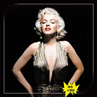 WIG MINE Star wig Monroe sexy blonde stage show short curly COS makeup props, pale gold