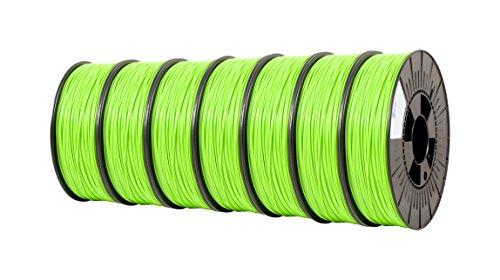 ICE FILAMENTS ICE7VALP163 PLA Filament 2,85 mm, 0,75 kg, Fluo Gnarly Green (lot de 7)
