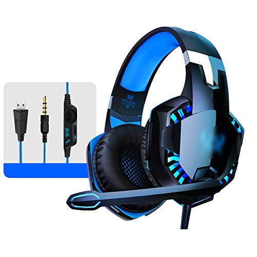 Find Bargain Bseack Headphones Hi-Fi Player Headset Stereo Sound Headset Computer Headset with Cool ...