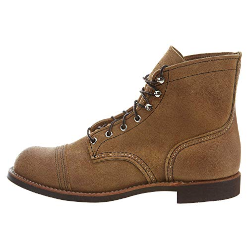 Red Wing Heritage Men's Iron Ranger Work Boot, Hawthorne Muleskinner, 7.5 D US