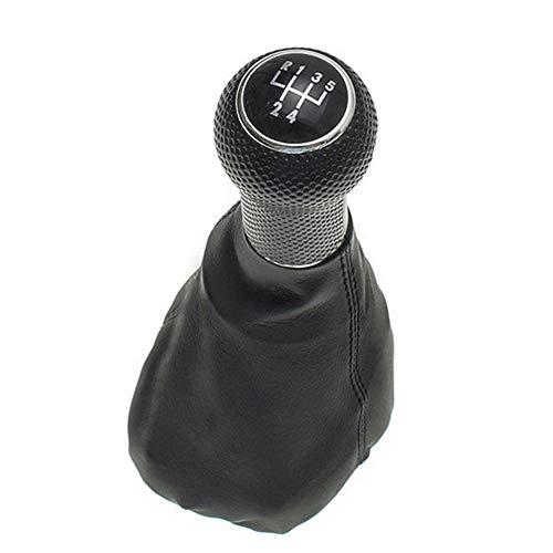 PU lederen 5-speed MT pookknop, voor Volkswagen VW Golf MK4 Bora POLO, voor SEAT CORDOBA INCA IBIZA versnellingshendel Stick