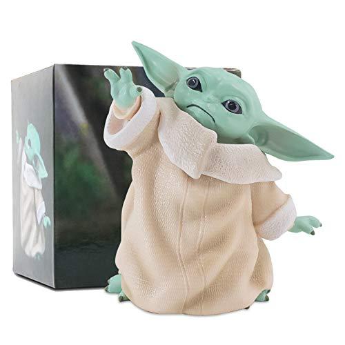 Baby Yoda Gifts,Baby Yoda Doll,Baby Yoda Toys for Kids,Baby Yoda Figure,Child Yoda Toy,Baby Yoda Figurine,Bebe Yoda for Boys