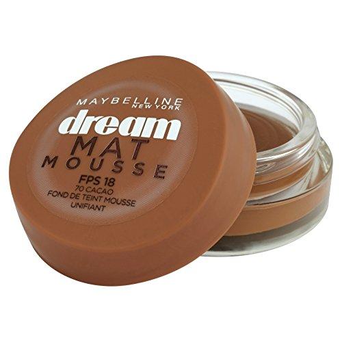 Maybelline New York Dream Mat Mousse - Fond de teint mousse - 70 cacao