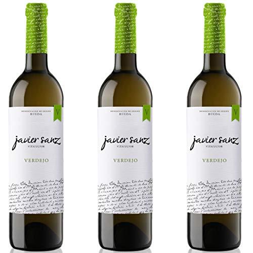 Javier Sanz Vino blanco verdejo - 3 botellas x 750ml - total: 2250 ml