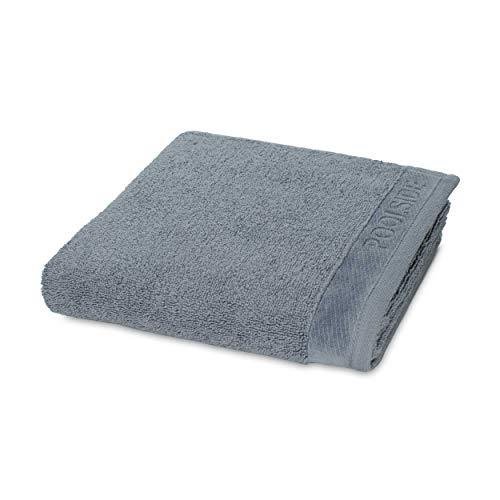 MÖVE Poolside Handtuch 50 x 100 cm, Handtuch - Made in Germany, 100% Baumwolle, Stone (Grau)