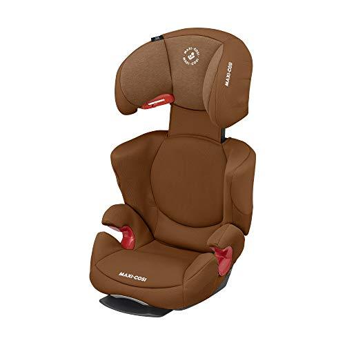 Maxi-Cosi Rodi AirProtect Kindersitz, Autositzerhöhung mit hoher Rücklehne, 3,5 - 12 Jahre, 15 - 36 kg, Authentic Cognac