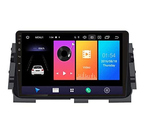W-bgzsj Coche Estéreo Android 9.0 Radio para Nissan Kicks 2017-2018 GPS Navigation 9 Pulgadas HD Pantalla táctil Unidad de Cabeza MP5 Player Multimedia Video con 4G WiFi DSP SWC Mirror Link