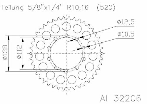 Corona ESJOT 51-32206-46 Aluminium