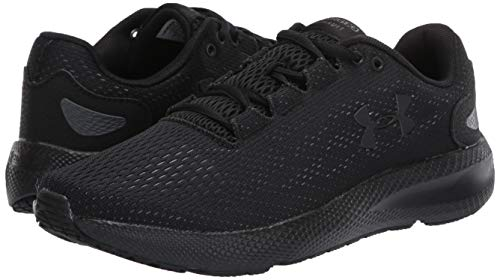 Under Armour Men's Charged Pursuit 2 Running Shoe, Black (003)/Black, 11 M US 5