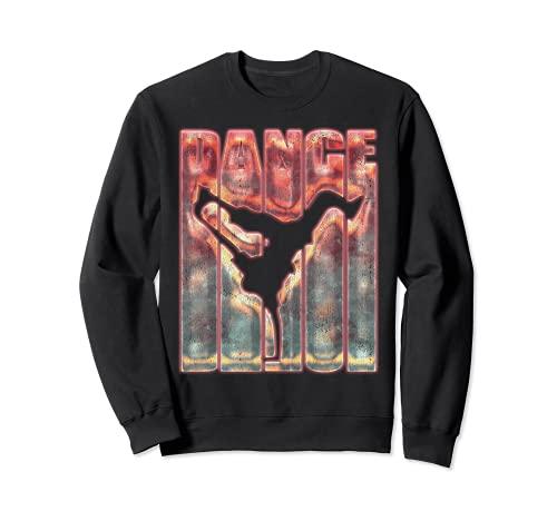 Graffiti Hip Hop Dance Shirt Breakdance B-Boy Breakdancing Sudadera
