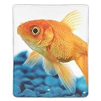 マウスパッド 金魚 滑り止め 防水 PC ラップトップ 水洗い レーザー 光学式 18*22cm