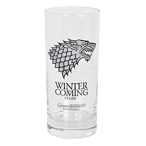 Game Of Thrones - Vaso, 290 ml, diseño Se Acerca el Invierno