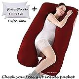 Angel Mommy Premium Pregnancy Pillow - U Shaped Pillow/Body Pillow/Lumbar Pillow/Maternity Pillow