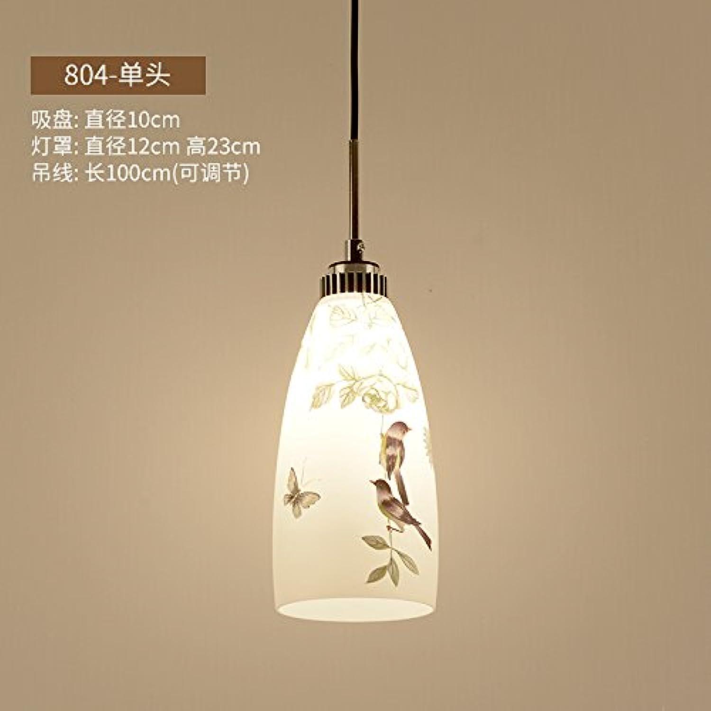BESPD Modernen minimalistischen Stil kreative Kronleuchter Deckenlampe Hngeleuchte-804 Single 9 Watt weies Licht