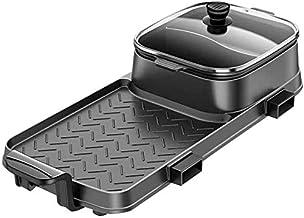 ZOUSHUAIDEDIAN Électrique Barbecue d'intérieur Hot Pot, multifonctions antiadhésifs Shabu Shabu Hot Pot électrique Pot for...