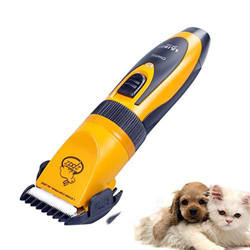 Pet Clipper cheveux LILIMO Marque électrique Pet Clipper Chien Chat Lapin Tondeuse rechargeable pour animaux coupe de cheveux machine 110V-240V