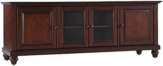 Crosley Furniture KF10005DMA Cambridge 60-inch Low-Profile TV Stand, Vintage Mahogany