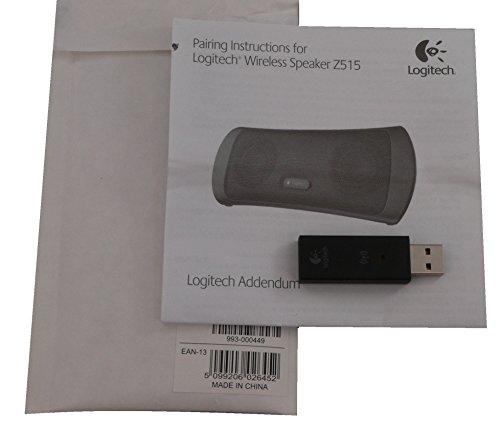 Original Logitech USB Receiver for Logitech Wireless USB Speaker Z515
