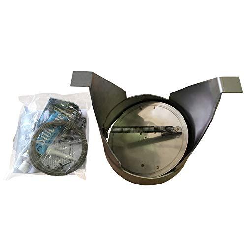 Round Spider Damper by American Chimney Supplies - 8