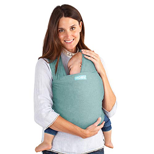 Moby Wrap Baby Carrier | Element | Baby Wrap Carrier for Newborns & Infants | #1 Baby Wrap | Baby Gift | Keeps Baby Safe & Secure | Adjustable for All Body Types | Perfect for Mom & Dad | Hydro