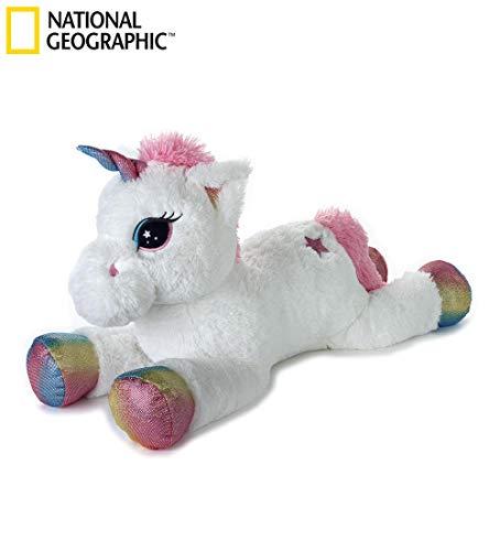 Venturelli Unicorno Cm.75 Animali Buffi E Altri Peluches, Multicolore, 8004332209430