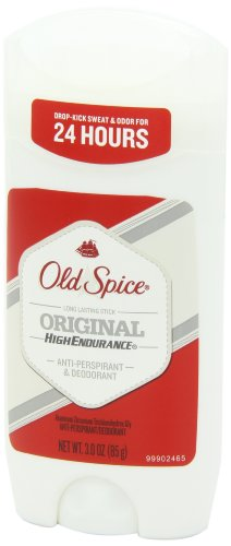 Old Spice Antiperspirant and Deodorant for Men, High Endurance, Original, 3 Oz (Pack of 6)