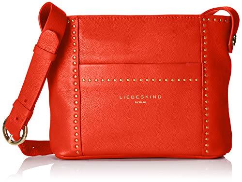Liebeskind Berlin Damen SLCrossbS-Vintag Umhängetasche, Liebeskind red, 6x23x22 cm