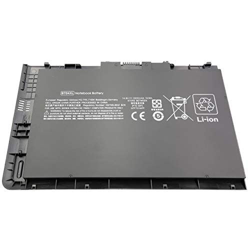 BLESYS BT04XL Batería HSTNN-DB3Z 687945-001 696621-001 BA06XL 687517-2C1 687517-171 HSTNN-IB3Z HSTNN-I10C Batería para Laptop Compatible con HP EliteBook Folio 9470M 9480M Ultrabook Series Batería