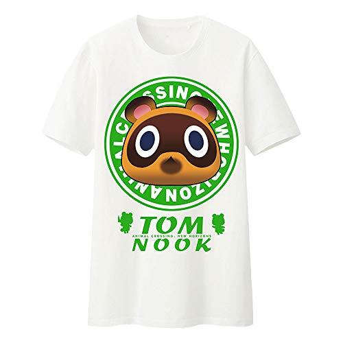 Camiseta De Verano con Cuello Redondo Y Manga Corta Camiseta