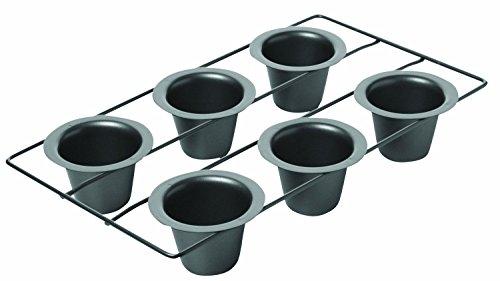 Generic QYUS4160215151982822 6-Cup ic Non Non Stick Metalli Metallic -Cup Po Pan, New an, New Popover Popover Pan, New