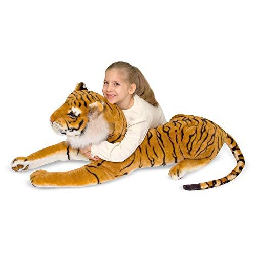 Melissa & Doug Large Stuffed Tiger Image
