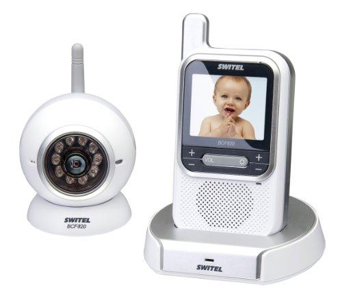 Switel SW-BCF820 Video Babyphone Schnurloses AV Überwachungssystem mit Digitaler Übertragung