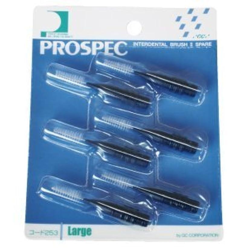 リクルートマダム精通したプロスペック 歯間ブラシII スペアー/L/1パック(6本入り)