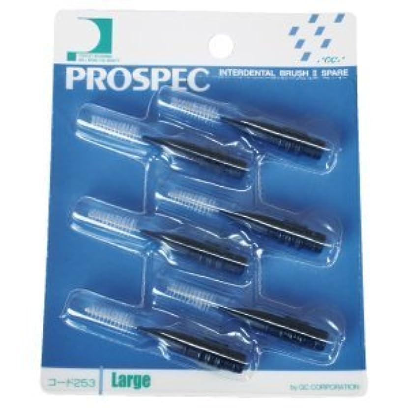 複雑でない黙投げ捨てるプロスペック 歯間ブラシII スペアー/L/1パック(6本入り)