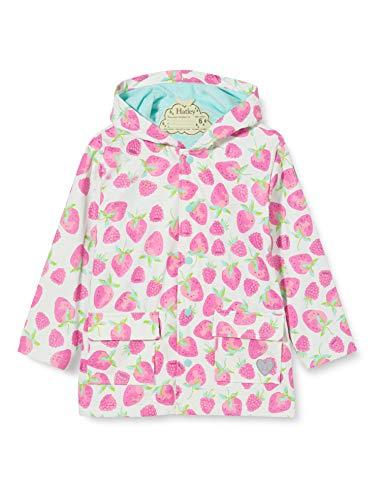 Hatley Girl's Printed Raincoat, Delicious Berries, 6 Years