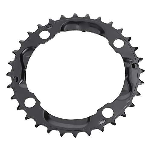 Plato redondo ovalado, ligero, resistente al desgaste, anillo de cadena de acero de primera calidad para bicicleta, con reducción de fricción y ruido, plato único estrecho y ancho, para bicicleta