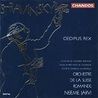 Stravinsky; Oedipus Rex