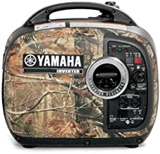 Yamaha EF2000iSCH, 1600 Running Watts/2000 Starting Watts, Gas Powered Portable Inverter