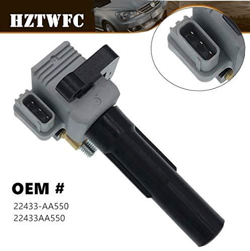 HZTWFC Bobine d'allumage OEM # 22433-AA550 22433AA550 pour Impreza WRX 2.0l H4 - Saab 9-2x 2.0L
