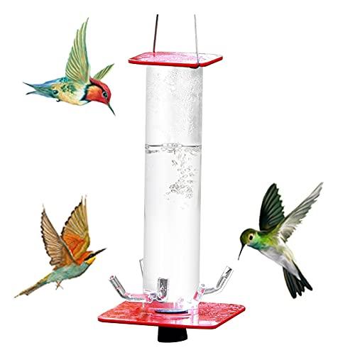 BASOYO Dispensador automático de comedero para pájaros, Botella de Agua para pájaros, Recipiente para Bebedero, Clip para Colgar en la Jaula de pájaros para Loros, periquitos, cacatúas, agapornis