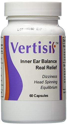 Eradicate Vertigo with Vertisil Guaranteed! (Single Bottle)60 Capsules; Eliminate Vertigo Fast. No Harmful Side Effects