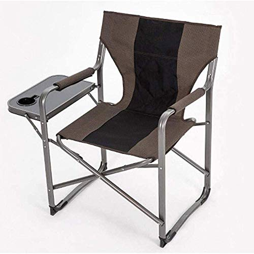 FACAZ Lightweight Durable Folding Chair Outdoor Freestyle Rocker Portable Folding Rocking Chair