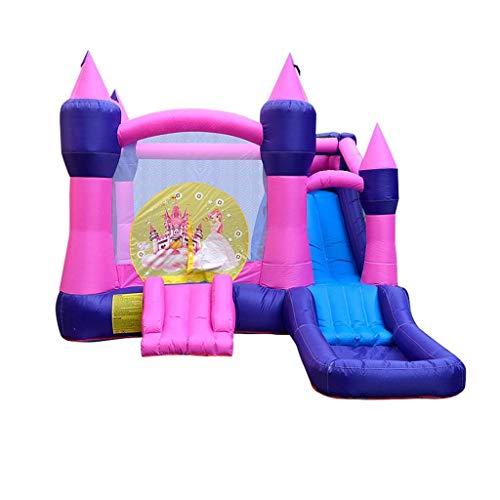 Trampolines al aire libre Inflables Castillos hinchables Casa de salto de la casa Tobogades de agua Slimas de juegos cuadrados Tijeras de castillo traviesa Adecuado para parques y parques infantiles L
