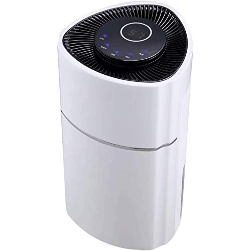 LYYJIAJU 2400ML Portable Small Dehumidifiers Electric for Home Bathroom Bedroom Basement Closet RV Camper Garage,Anti-Overflow Electric Mini Dehumidifier,UV Sterilization,Negative Ion Purification