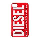 STRAX Diesel Snap Case funda para teléfono móvil Rojo - Fundas para teléfonos móviles (Funda, Apple, iPhone 4 / 4S, Rojo)