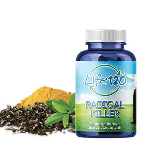 Life 120 Radical Killer - 90 Compresse - Radical Killer è un integratore di antiossidanti naturali.