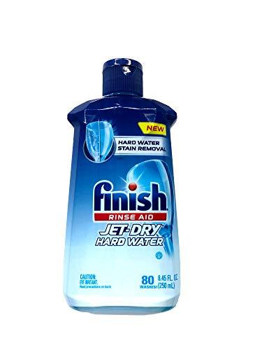 Finish Jet Dry Dishwasher Rinse Aid, Hardwater Protection
