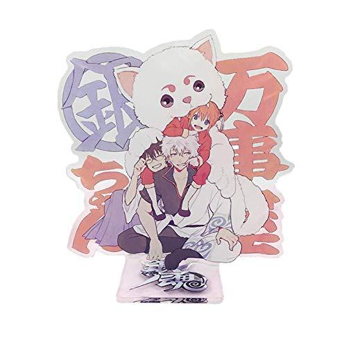 Car-tobby Anime Gintama Acryl Ständer Figur Modell Spielzeug Anime Tisch Dekoration - H01