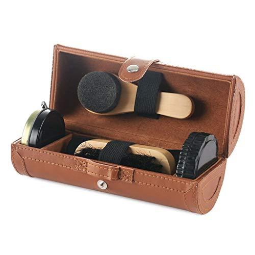 SimpleLife Kit de Cirage de Chaussures Travel avec...